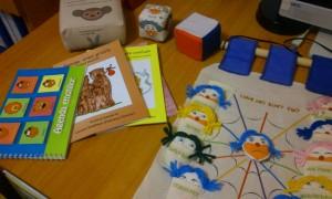 Materialele pentru lucrul cu copiii